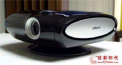 黑色的魅力 富可视IN76家用投影机售价16500元