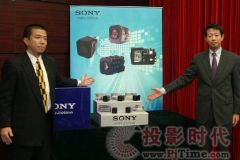 索尼影像传感器FCB E版本系列新品<font color='#FF0000'>CPSE2009</font>展放风采