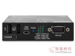支持<font color='#FF0000'>3D</font>和4K信号&nbsp;Lightware单芯多模光纤传输HDMI接收器