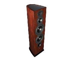 可调节高低频:RevelF208落地喇叭