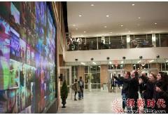 利伯缇大学部署科视互动媒体墙