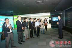 台达视讯媒体参访活动于工博会同期圆满举行