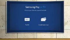 传三星智能电视支持Samsung<font color='#FF0000'>pay</font>移动支付