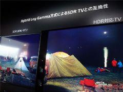 索尼展示<font color='#FF0000'>HLG</font>技术电视可兼容非HDR