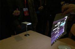 激光应用新突破<font color='#FF0000'>MEMS</font>微激光投影智能手机上市