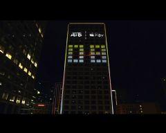 加拿大某银行为支持<font color='#FF0000'>Apple</font>pay打造80000流明的4K投影屏