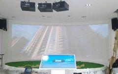 索诺克Sonnoc打造陕西某服务中心扶贫展厅高科技数字沙盘