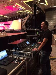 AKG<font color='#FF0000'>DMS</font>800携手MIDASM32打造2016年中国企业互联网大会