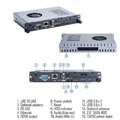 艾讯科技推出<font color='#FF0000'>4K</font>广告牌专用播放器OPS500-501