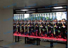 鹤壁市机关事务管理局车辆调度中心液晶拼接大屏幕落成