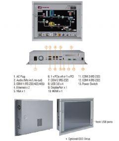艾讯发表最新IP65工业触控平板电脑P1197E-500
