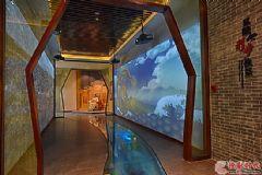 64台明基工程投影机点亮明显陵人文旅游展馆
