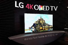 LG墙纸式OLED电视正式上市