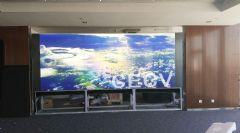 <font color='#FF0000'>CECV</font>70寸激光DLP大屏幕应用于太原高铁站