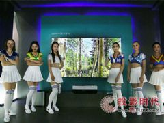 亚洲CES海信大屏 美国将用上激光电视