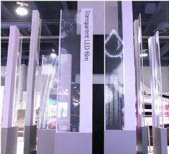 黑科技频现&nbsp;LG推出透明的<font color='#FF0000'>led</font>显示屏