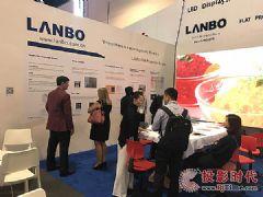 中国制造,美国专利&nbsp;LANBO平板投影美国<font color='#FF0000'>Infocomm</font>大秀实力