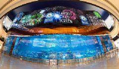 迪拜购物中心安装全球最大<font color='#FF0000'>Oled</font>显示屏