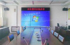 潍科物联网应用Voury卓华46英寸超窄边液晶拼接大屏提升数据展示体验