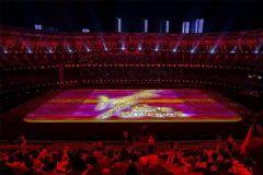 """难忘""""津""""宵,3D激光投影成就最璀璨的全运会!"""