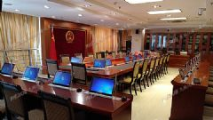 <font color='#FF0000'>PLEXUS</font>(派乐斯)无纸化会议系统为福建某法院打造智能会议室