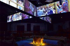 科视Christie显示解决方案和媒体服务器为金庙地下广场营造一流视觉体验