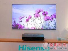 画面真实价格更低激光电视在超大屏市场更具优势