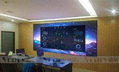 Voury卓华P1.8小间距led拼接屏助力禹城城市管理指挥中心