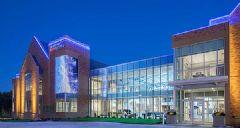 达科透明<font color='#FF0000'>LED</font>屏妆点桑福德医疗大厦