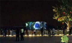 DET激光投影秀让景点游客涨了数倍!
