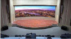 赢康:弧幕报告厅亮相中山眼科中心