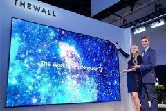 三星<font color='#FF0000'>MICRO</font>&nbsp;LED电视年底前推出,售价估超180万元