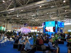 艾博德智慧教育方案2018俄罗斯教育展