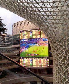 首台户外4K超级TV直播世界杯顶级赛事