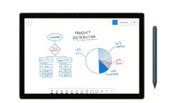 微软发布协作白板应用程序Whiteboard