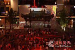 NEC打造中国最长投影天幕街游客称赞不已