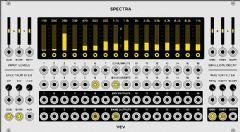 VCVRackSpectra16段频谱处理器