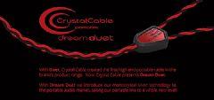 单结晶银导体:CrystalCableDreamDuet耳机升级线