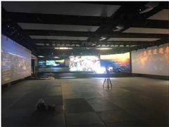 德普MCS云拼接图像处理技术打造品牌展厅