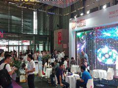 奥蕾达创意透明屏惊艳上海国际LED展