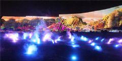赢康科技采用科视<font color='#FF0000'>Christie</font>HS系列在东夷文化博物馆集成多媒体光影秀中展示精彩画面
