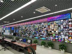 LG55V<font color='#FF0000'>H7</font>B为江苏有线苏州监控中心打造近乎无缝的监控检测大屏!