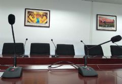 阳江核电厂区会议室使用<font color='#FF0000'>QSC</font>+铁三角产品
