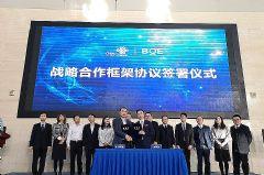 BOE(京东方)与中国联通战略合作