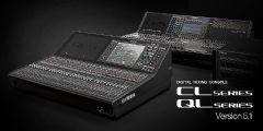 雅马哈CL和QL系列数字调音台软件更新