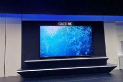 除了219英寸超大The<font color='#FF0000'>Wall</font>三星CES2019还展示了8K电视