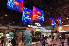4K再乘以4倍,TCL新品X10QLED8KTV亮相CES展