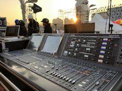 RIVAGEPM7数字混音系统助力2019北京跨年活动