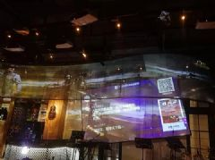 SEEMILE激光投影方案打造音乐餐吧