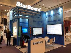 艾博德携iBoard和<font color='#FF0000'>starboard</font>两大品牌出席ISE展